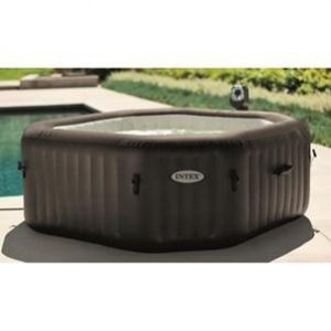 Intex 28454 Pure SPA 79 Zoll Octagon - Bubble, Jet und Salzwassersystem