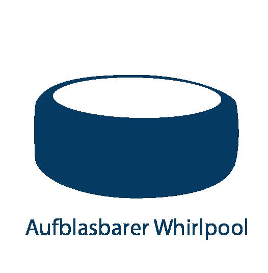 Aufblasbarer Whirlpool